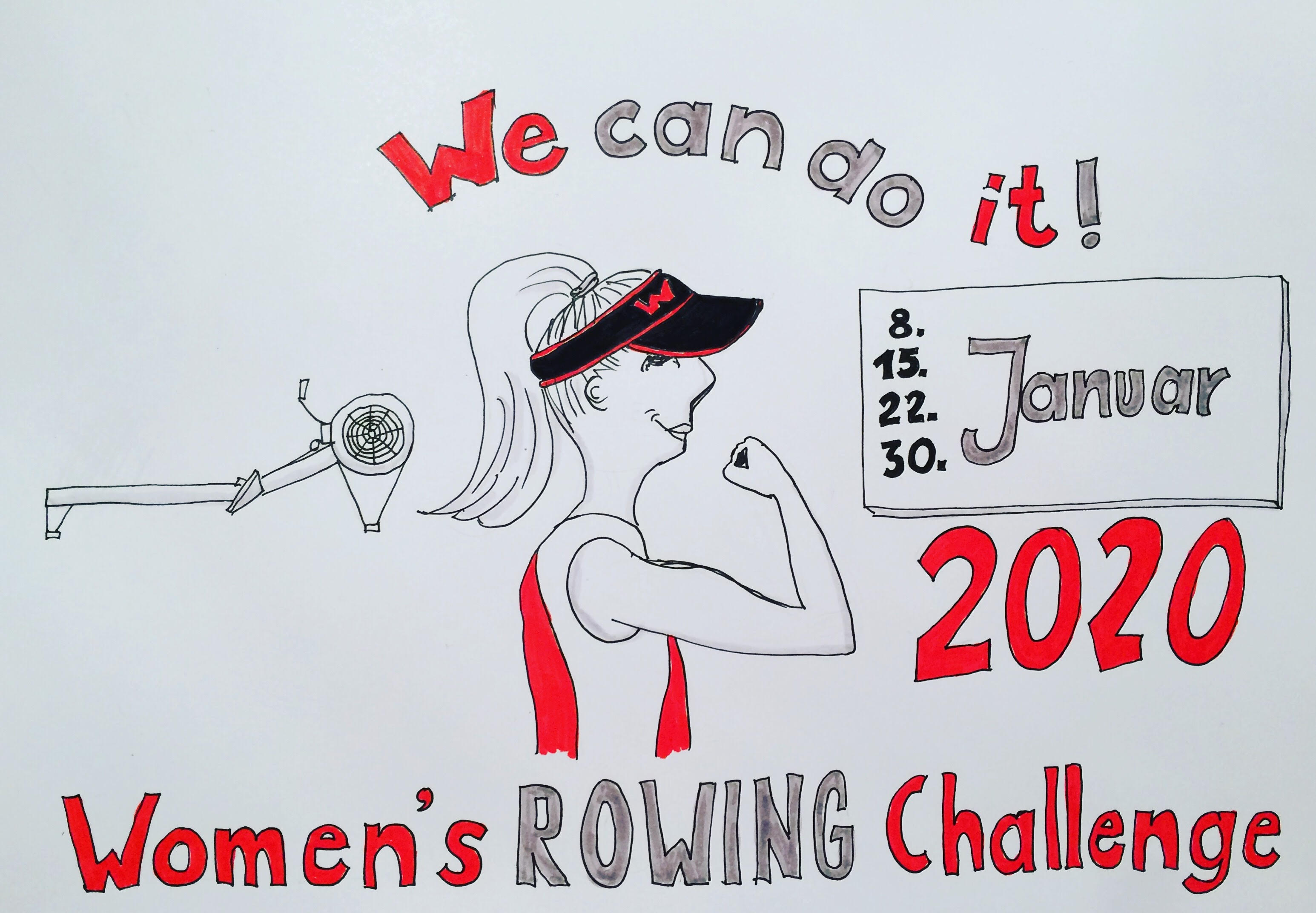 Poster Womens Challenge 2020